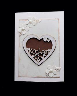 Kartka walentynkowa – serce
