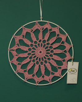 Mandala mała różowa